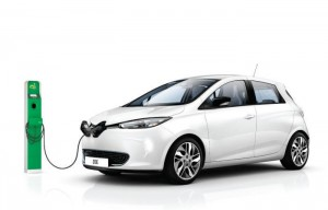 renault-zoe-with-Plug-in-electric-car-grant